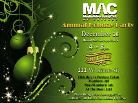 MAC 2014 Annual Holiday Party Invite
